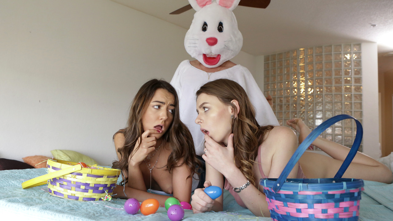 BrattySis – Creampie Surprise – Alex Blake, Lily Adams
