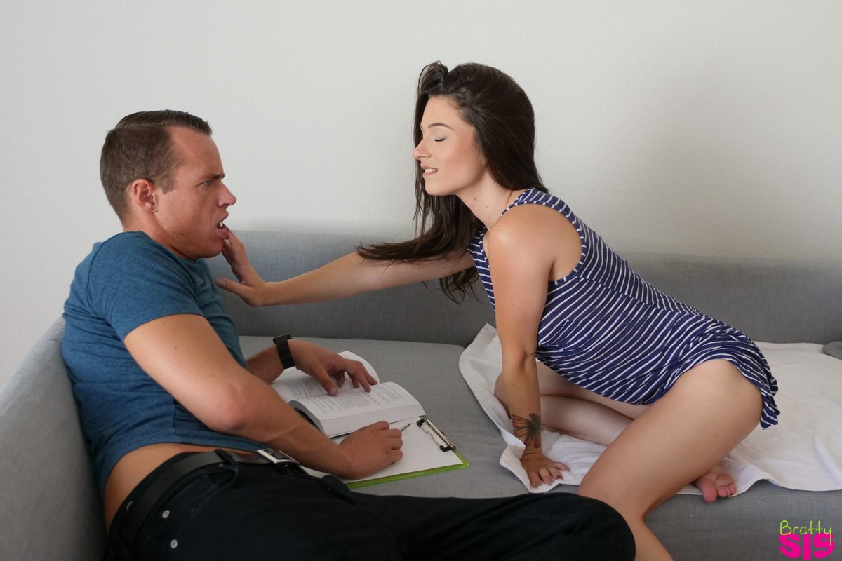 BrattySis.com - Lacey Channing: Squirting Step Sister - S3:E4
