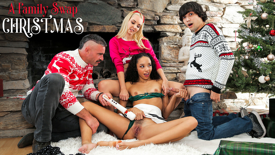 Teen Vibrator Sex – A Family Swap Christmas