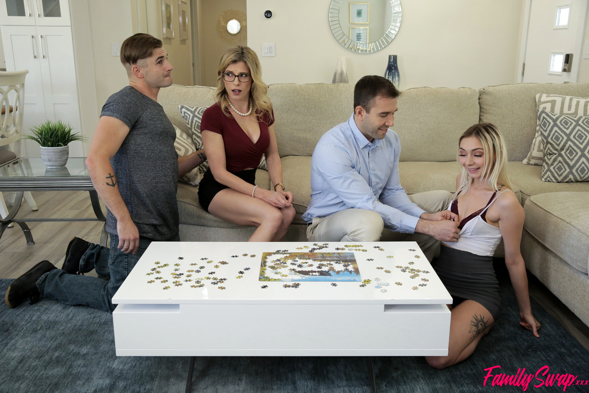 FamilySwap.xxx - Chloe Temple,Cory Chase: Family Swap Picking Up The Pieces - S1:E1