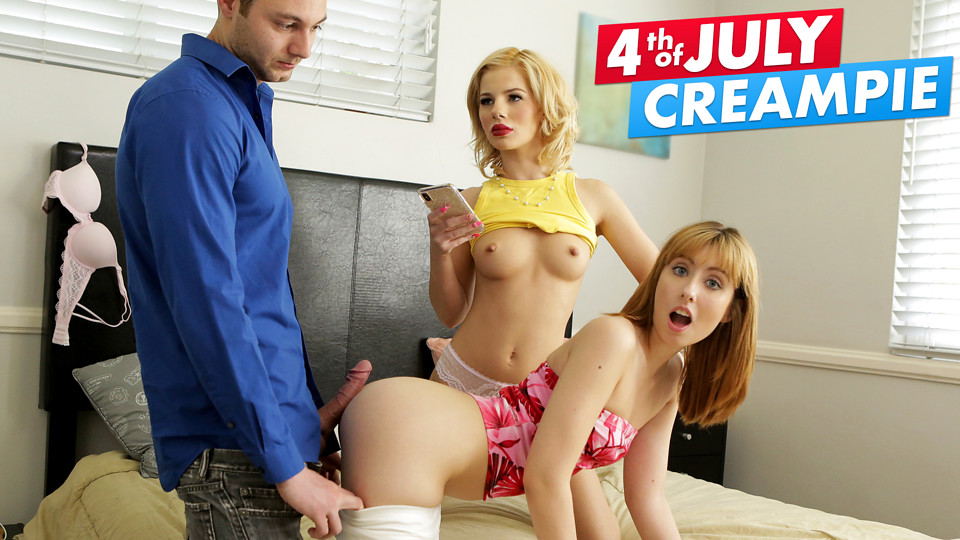 Fourth Of July And Its Time For Creampie Video