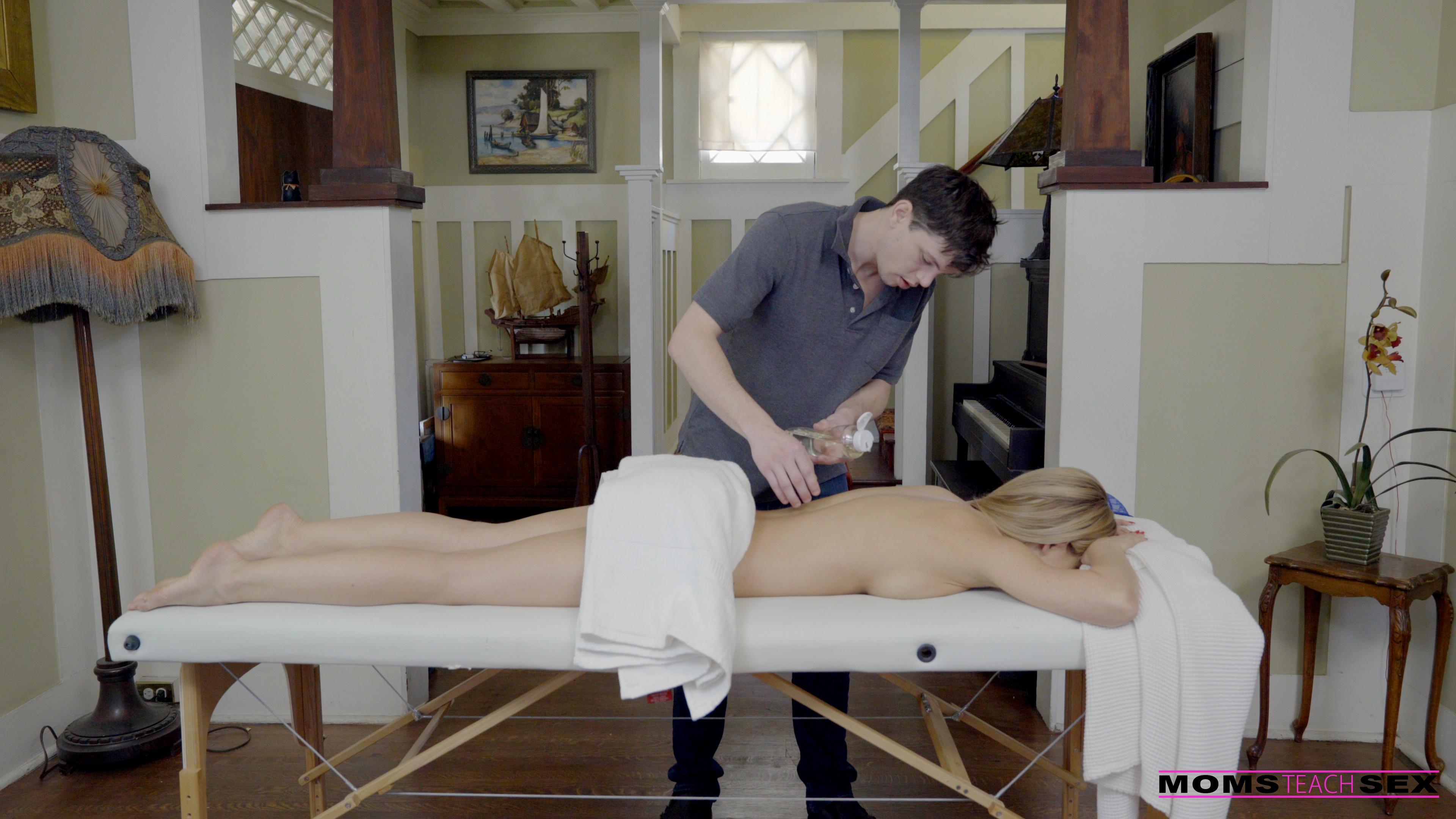 moms teach sex mothers day massage s8 e4 featuring