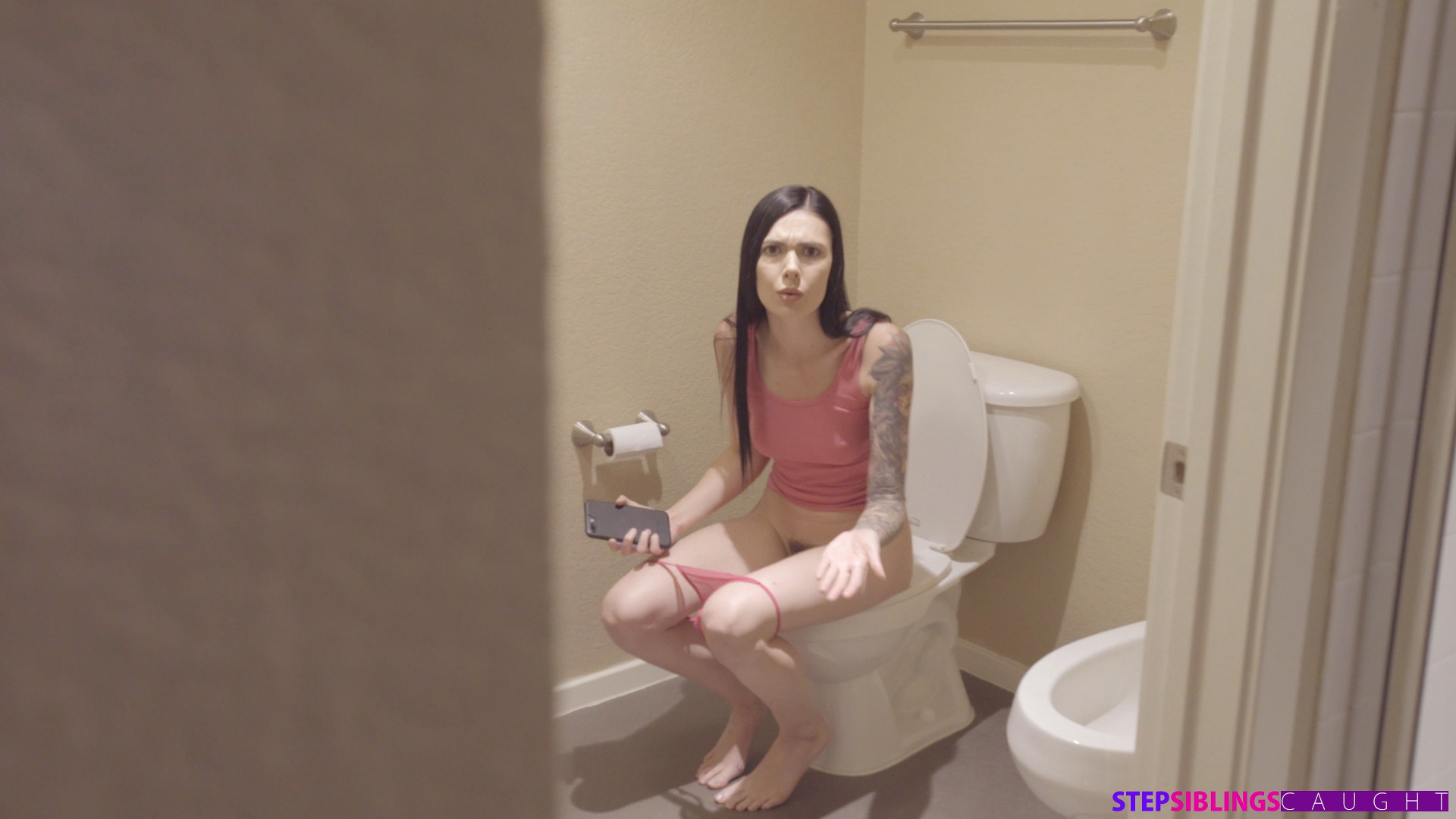 Fuck My Step Sister Bathroom