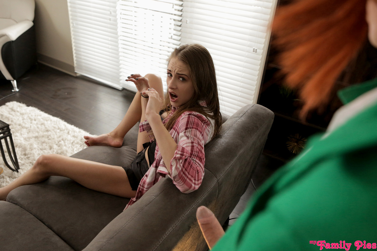 Teen girl caught by parents teen
