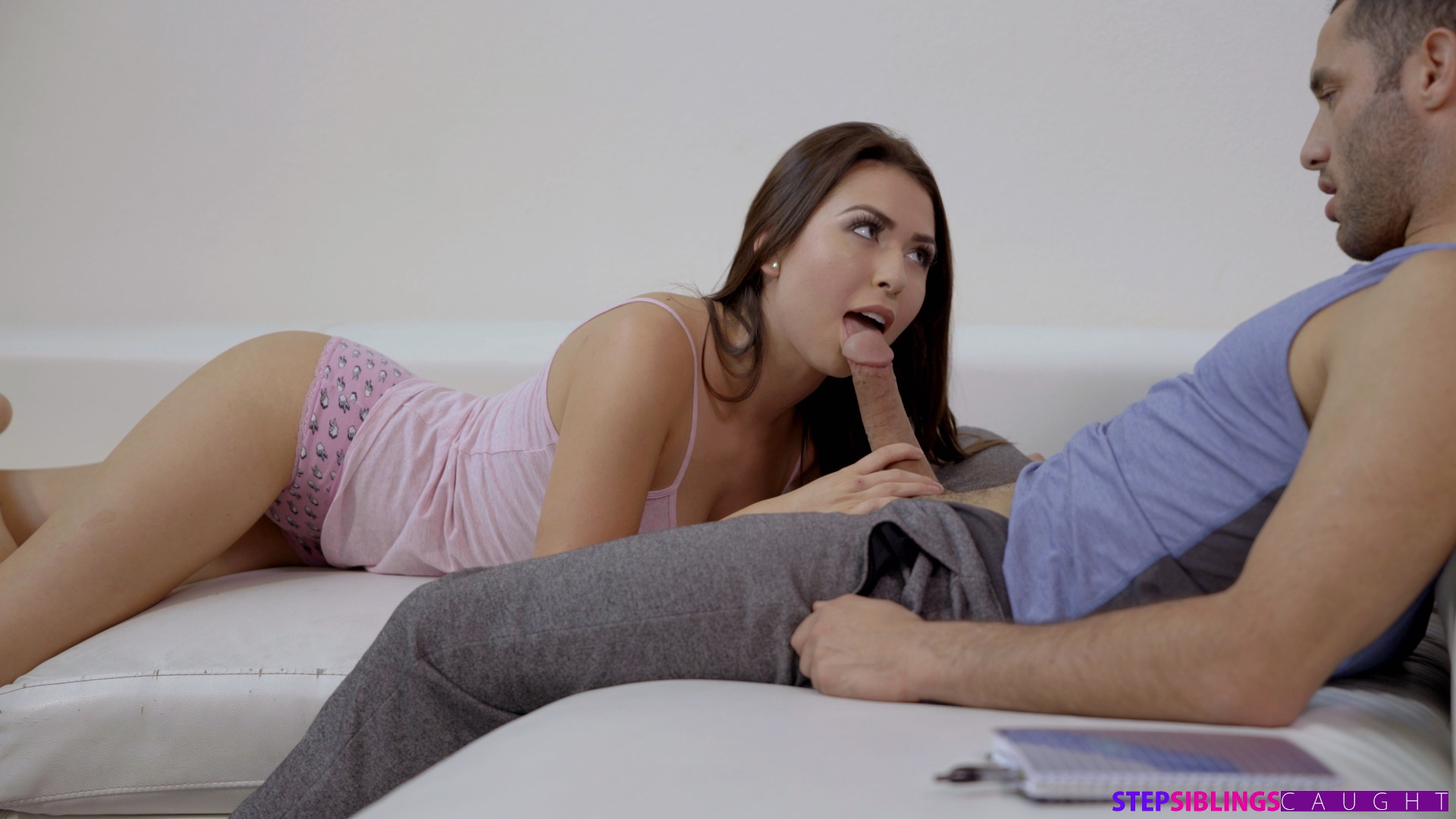 Step Sister Shows Brother Tits