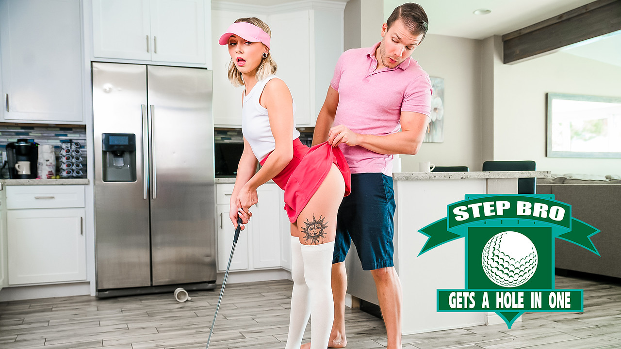 StepSiblingsCaught.com - Chloe Temple: Step Bro Gets A Hole In One - S16:E2