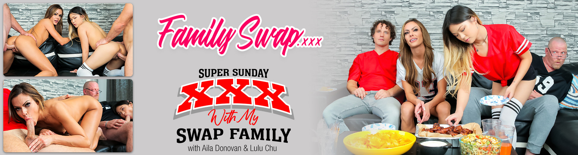Super Sunday with My Swap Family