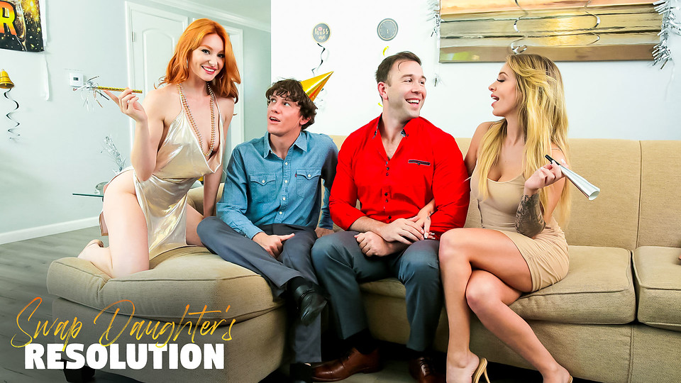 New Years Orgy – Swap Daughters New Years Resolution